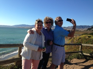 Lura, Sue and David at Cambria